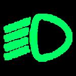 נורית חיווי Drive Light בדגמי מיצובישי