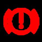 נורית חיווי תקלה brake אדומה בדגמי מיצובישי הילוך שישי