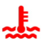 נורית חיווי תקלה hot אדומה בדגמי מיצובישי הילוך שישי